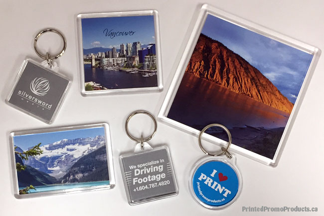 Custom printed acrylic promotional products