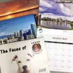 Custom printed wall flip calendars