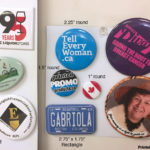 Custom rigid, domed fridge magnets