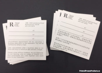 Custom appointment slips - notepads.