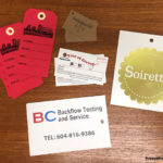 Custom printed hang tags