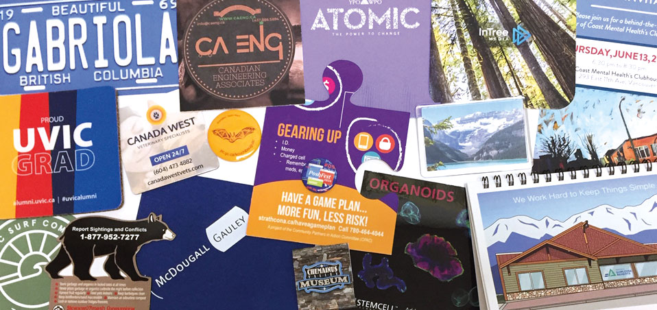 Custom printed promo products